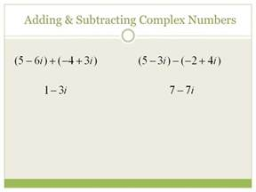 Adding Imaginary Numbers