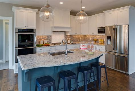 prefabricated kitchen island white kitchen with blue island paint color benjamin 1630