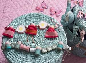 des guirlandes pour bebe en recup marie claire With déco chambre bébé pas cher avec faire envoyer des fleurs par internet