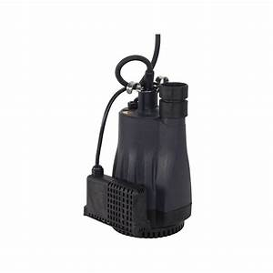 130 Ltr  Min Submersible Drainage Pump  Shallow Water