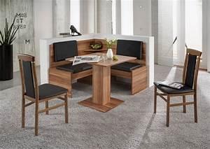 Tisch Für Eckbank : eckbankgruppe jonny eckbank tisch sitzgruppe k che esszimmer walnuss schwarz ebay ~ Orissabook.com Haus und Dekorationen