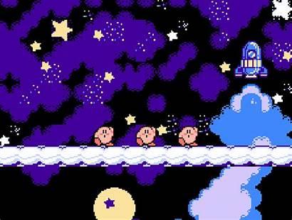 Nintendo Kirby Nes Pixel Heart Animated Games