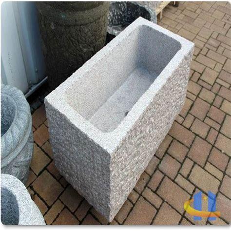 Steintrog Aus Granit Brunnentrog Wassertrog Garten