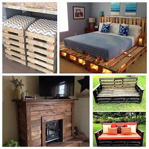 39, Furniture, Pallet, Projects, You, Can, Diy, For, Your, Home