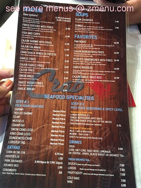 2,351 likes · 50 talking about this · 93 were here. Online Menu of The Crab Shack Restaurant, Carson, California, 90745 - Zmenu