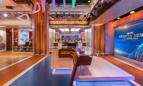 Nbc Nightly News Studio Design Gallery