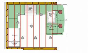 Recessed lighting simple guide layout