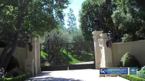 holmby hills  expensive home   world beverly