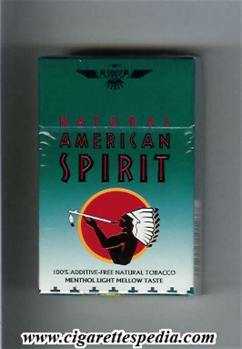 American Spirit Light by American Spirit Menthol Light Mellow Taste Ks 20