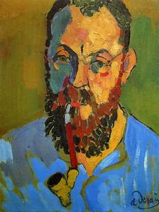 "dappledwithshadow: ""Portrait of Matisse, by Andre Derain ..."