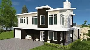 Plan De Maison Moderne Bi
