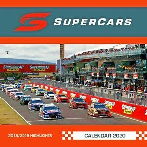 supercars  square wall calendar  browntrout  super