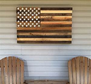 chalk paint table cowboys pallet flag american flag With what kind of paint to use on kitchen cabinets for wood american flag wall art