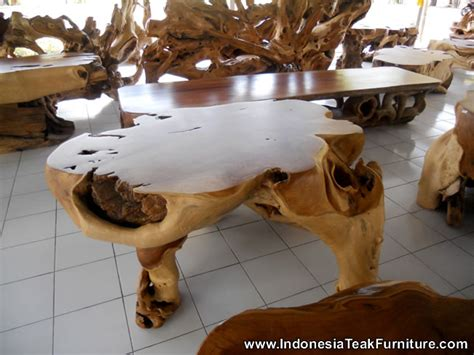Buy Thai Wood Carving Wall Art Panel Asian Home Decor Online: TEAK ROOT TABLE FURNITURE THAILAND