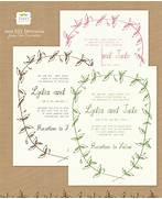 10 Free Printable Wedding Invitations DIY Wedding Design Your Own Custom Birthday Invitations Canva Ornate Invitation Cards Design Vector Free Vector In Online Invitation Card Maker Free