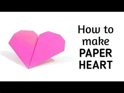 origami paper heart  origami paper