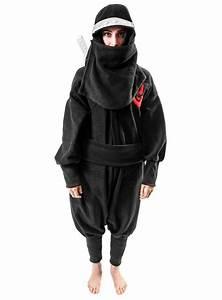 Warmes Halloween Kostüm : cozysuit ninja kigurumi kost m ninjakost m onesie ~ Lizthompson.info Haus und Dekorationen