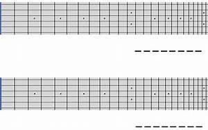 Printable Guitar Fretboard Diagram