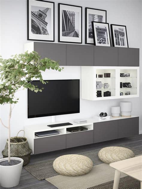 Ikea Besta Wohnzimmer by Mur Besta Mieszkanko Living Room Decor Ikea Living