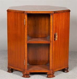 Unusual Coffee/ Lamp Table Inlaid Drinks Cabinet ...