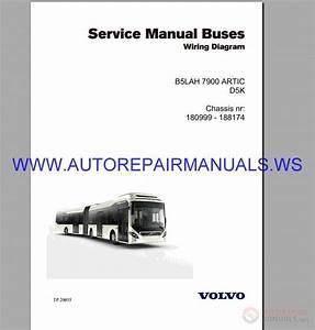 Volvo B5lah Wiring Diagram Service Manual Buses