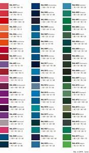 Paint Colour Mixing Chart Pdf Ral Gt Cmyk Http Www Neumann Werbetechnik De Sod Data