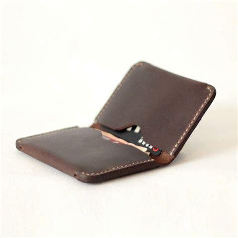 Slim Leather Credit Card Holder Wallet for Men