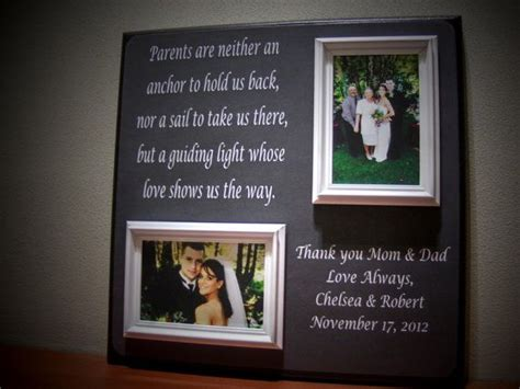 parents wedding gift father  mother