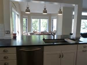 standalone kitchen island how to incorporate a post into our kitchen island