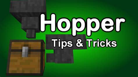 Minecraft Hopper Tutorial Part 1 - YouTube