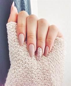 Ongles Pinterest : les 25 meilleures id es de la cat gorie ongles amande sur pinterest ongles ovales ongles ~ Melissatoandfro.com Idées de Décoration