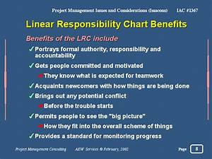 Linear Responsibility Chart Benefits