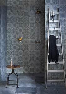 Carreaux De Ciment Salle De Bain : le carrelage effet b ton en 55 photos inspirantes ~ Melissatoandfro.com Idées de Décoration