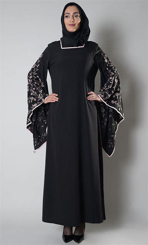 lulu dress arabic lulu embroidered abaya