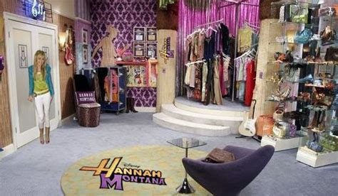 miley cyrus bedroom  hannah montana  information