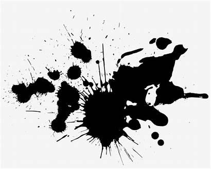 Splatter Paint Splash Brush Transparent Ink Clipart