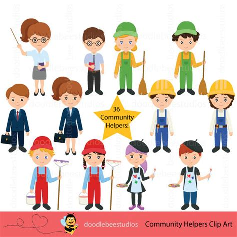 15100 career day clipart community helpers clipart community clipartcareer day