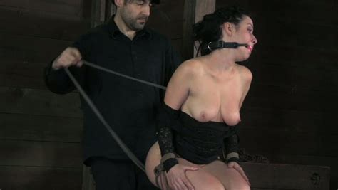 Delicious Ample Brunette Doxy Gets Dildo Fucked In Bdsm