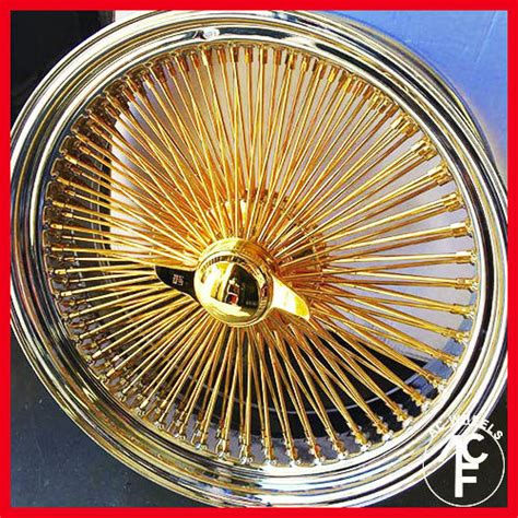 1000 images about slabz on wire wheels 22 quot std 150 spoke wire wheel all gold center usa gold
