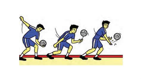 Sebaliknya, lakukan gerakan menggeser kaki kiri ke samping kiri. Permainan Bola Voli Peraturan Teknik Posisi Dan Sejarah