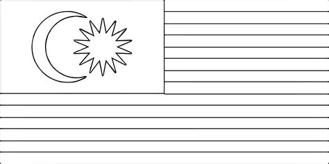 Code black is the derived works of the cartoon cells at work! Malaysia flag clipart black and white 5 » Clipart Station