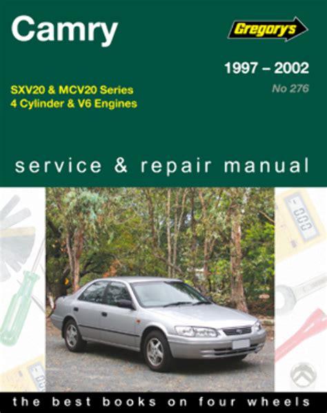 online service manuals 2002 toyota camry user handbook toyota camry 5s fe 1mz fe 1997 2002 gregorys service repair workshop manual ebay
