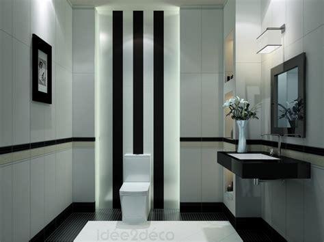 Décoration Salle De Bain Noir Et Blanc