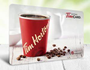 Tim Hortons giftcard giveaway