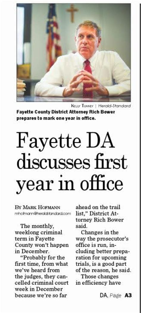 fayette countys district attorney richard bower mitch