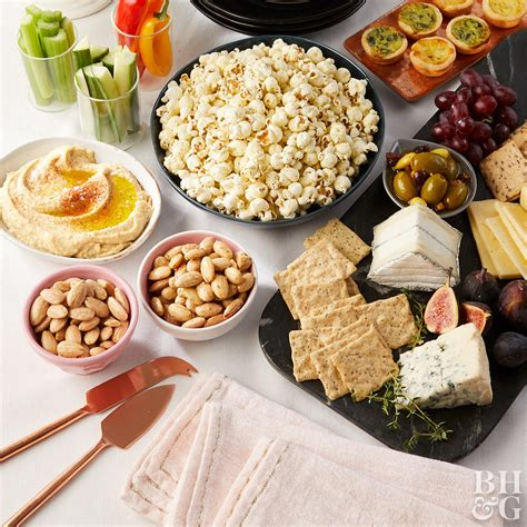 fingerfood für host an appetizers only dinner finger food ideas more from better homes gardens