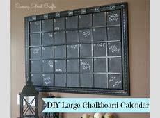 Chalkboard Calendar Canary Street Crafts