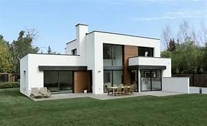 construction maison cube avie home With plan de maison cubique 3 maison bois cubique 224 toit plat nos maisons ossatures bois