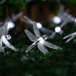 Dragonfly Patio Lights String Spain In Stock 4 8m 20 Led Solar Dragonfly Fairy String