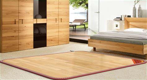 heated floor mat shenzhen supplier proof pvc electric heating floor
